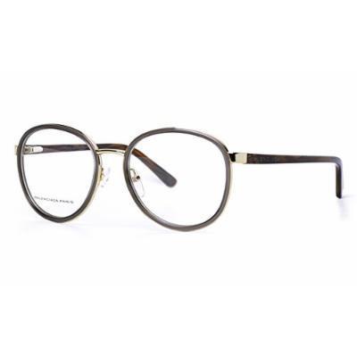 Balenciaga BAL 0109 Eyeglasses - Grey Gold Brown Horn (8O3) 51mm