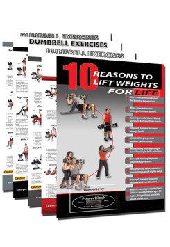 Powerblock PowerBlock Dumbbell Workout Poster Pack