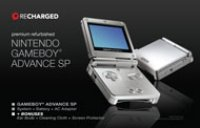 Nintendo Game Boy Advance SP System (Recharged Refurbished)