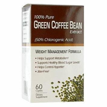 Green Coffee Bean Weight Management Formula Diet Supplement, 60 CT (PACK OF 3)