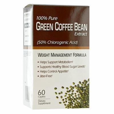 Green Coffee Bean Weight Management Formula Diet Supplement, 60 CT (PACK OF 3)