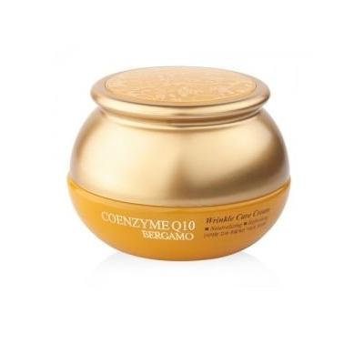Bergamo Korean Natural Highly Refind Coenzyme Q10 Wrinkle Care Moisturizing Neutralizing Refreshing Filler Face Cream Restore Skin Elasticity For All Types Of Skin 50 g