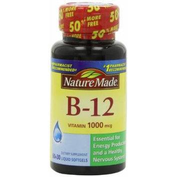 Nature Made Vitamin B-12 SoftGels, 1000 Mcg, 90 CT