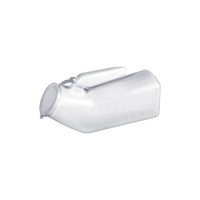 Drive Medical Urinals and Bed Pans Male Urinal, White