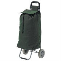 Drive Medical All Purpose Rolling Shopping Utility Cart Green