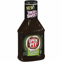 Open Pit Apple Whiskey Barbecue Sauce