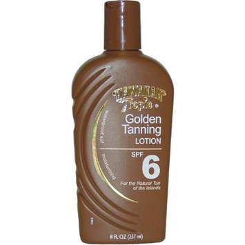 Hawaiian Tropic Golden Tanning Lotion with Sunscreen SPF 6 8 fl oz (237 ml)