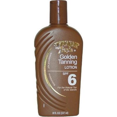 Hawaiian Tropic Golden Tanning Lotion with Sunscreen SPF 6 8 fl oz (237 ml)