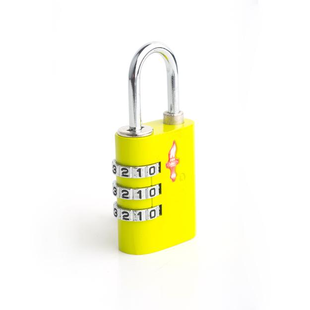 Safe Skies Locks Safe Skies 03 Aero TSA Lock Lime Green