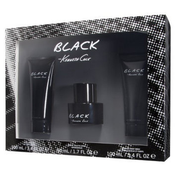 Men's Black by Kenneth Cole Gift Set - 3 pc