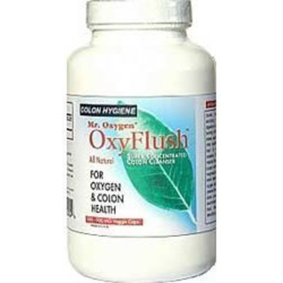 Mr. Oxygen OxyFlush Concentrated Colon Cleanser NEW 120 Caps