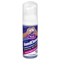 HandClens 2-In-1 Foaming Sanitizer & Lotion - 1.7 fl oz