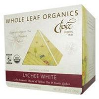 Choice Organic Teas Whole Leaf Organics Lychee White - 15 Tea Bags