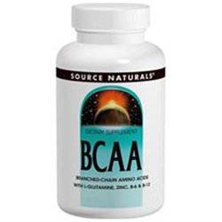 Source Naturals BCAA Branched Chain Amino Acids - 120 Capsules