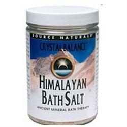 Source Naturals Crystal Balance Himalayan Bath Salt - 25 oz
