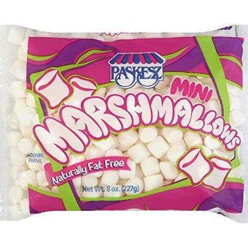 Paskesz, Marshmallow Mini, 8 OZ (Pack of 12)