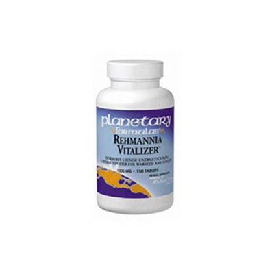 Planetary Formulations Rehmannia Vitalizer - 150 Tablets - General Health & Wellness