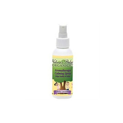 tures Baby Organics Aromotherapy Calming Spray - Lavender, 4 oz, Nature's Baby Organics