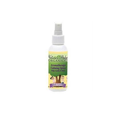 tures Baby Organics Aromotherapy Calming Spray - Lavender, 4 oz, Nature's Baby Organics