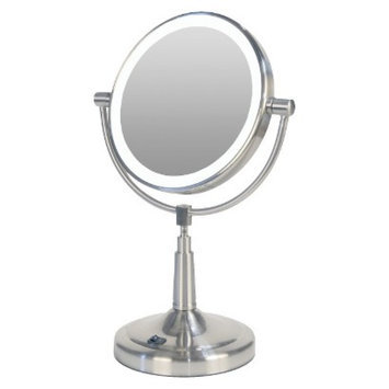 Zadro Next Generation LED Lighted Vanity Mirrors- 1X & 5X