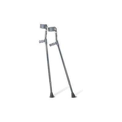 Medline Crutches Forearm - Crutch, Aluminum, Forearm, Tall, Adult