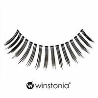 Winstonia 5 Pairs False Eyelashes Fake Lashes Fashion Makeup Cosmetic - Natural Invisible Band 04
