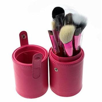Only You 2014 New 12 Cylinder Makeup Brush Professional Makeup Brush Makeup Brush Portable 39(pink)