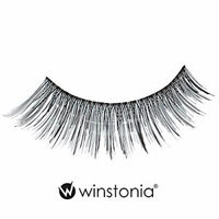 Winstonia 5 Pairs False Eyelashes Fake Lashes Fashion Makeup Cosmetic - Natural Thin Lashes 12