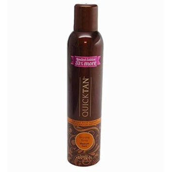 Body Drench Quick Tan Instant Self Tanning Spray Medium Dark, 8 Ounces (Pack of 6)