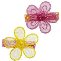 Gimme Clips Sunshine Day Flower Hair Clips