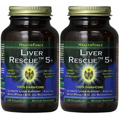 Healthforce Liver Rescue 5.1, 120 Count (2 Pack)
