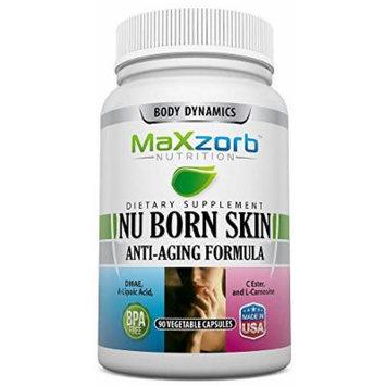 Body Dynamics 90 Capsules Nuborn Skin Anti-Aging Formula