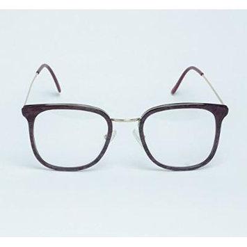 High Fashion Eyeglasses 5001 Col 10 Dark Purple 54-18 Made in Italy