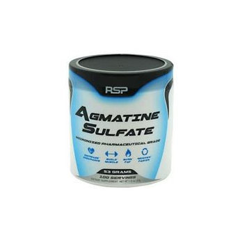 RSP Nutrition Agmatine Sulfate,53g, 100 Servings