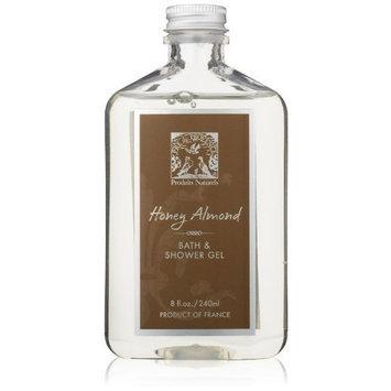 Pre de Provence Bath and Shower Gel, Honey Almond, 8 ounces Bottle