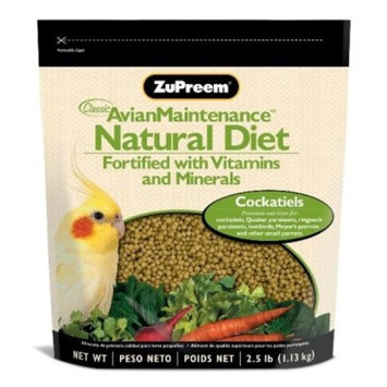 Zupreem Natural Medium Bird Food