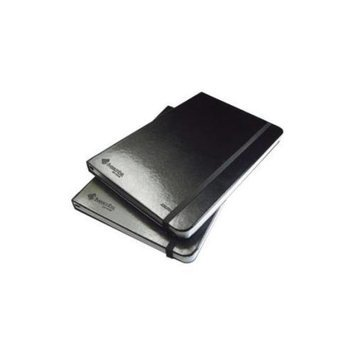 LIVESCRIBE ANA-00006 UNLINED JOURNALS 1 2 BLACK