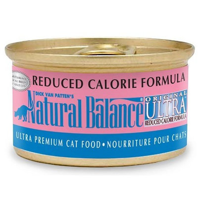 Natural Balance Original Ultra Reduced Calorie Cat Food (Pack of 24 3-Ounce Cans)