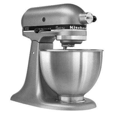 KitchenAid Classic 4.5 Qt Stand Mixer- Silver KSM75