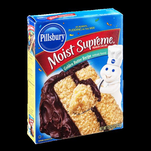 Pillsbury Moist Supreme Cake Mix Golden Butter Recipe