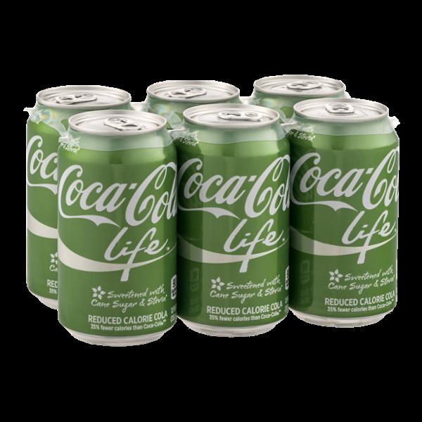 Coca-Cola Life - 6 PK
