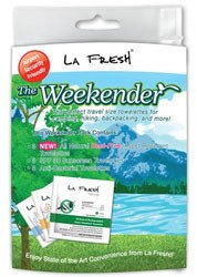 La Fresh Insect Repellent, Sunscreen SPF30 & Anti-Bacterial Wipes, 1 kit