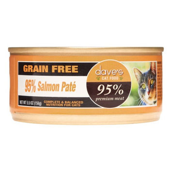 Dave's Pet Food Dave's 95% Salmon Pate Formula Canned Cat Food