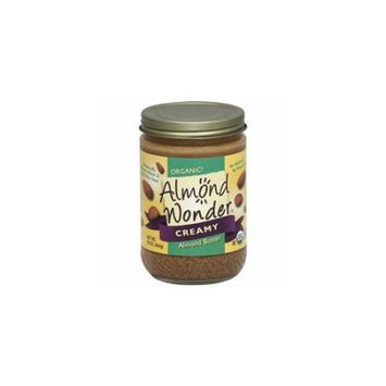 Almond Wonder Organic Creamy Almond Butter 16 oz - Vegan