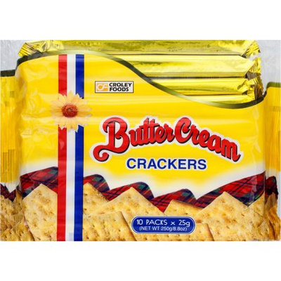 Croley Foods Butter Cream Crackers, 8.8 oz