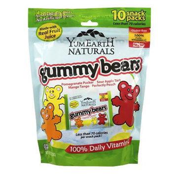 Yummy Earth Natural Gummy Bears Family Bag, 7 oz