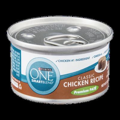 PURINA ONE® Smartblend Classic Chicken Recipe Premium Pate