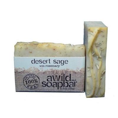 A Wild Soap Bar Organic Soap Bar, Desert Sage, 3.5 Ounce