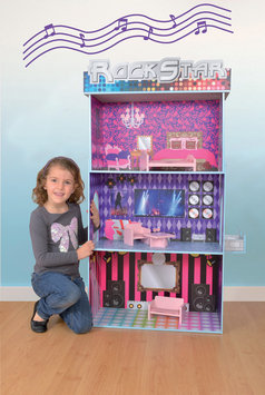 Fortune East Usa Llc Fortune East Rock Star Dollhouse