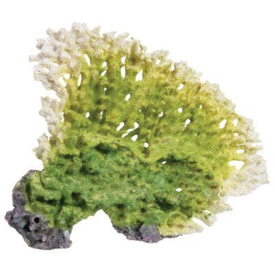 Top Fin Artifical Green Coral Fan Aquarium Plant